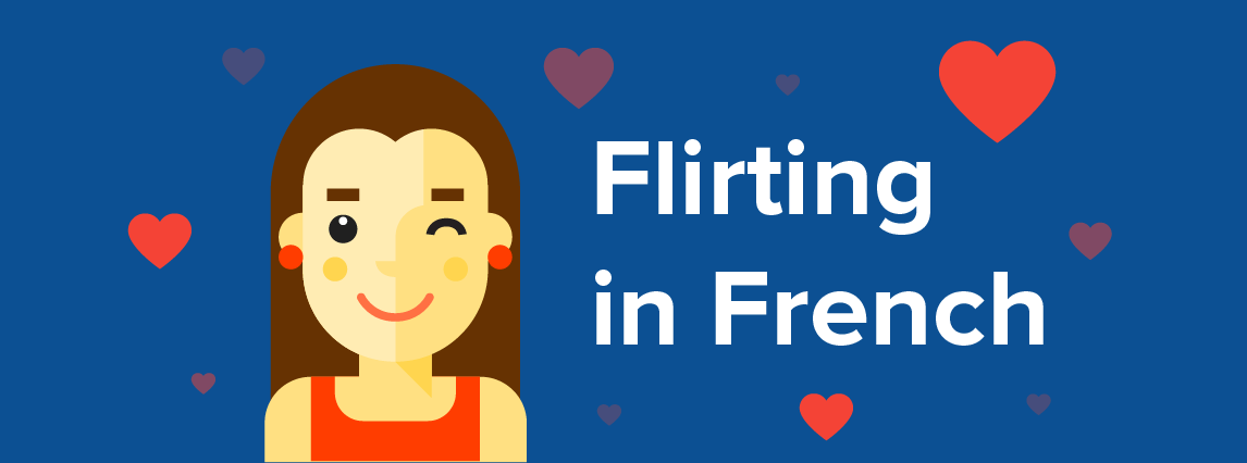 Flirting in French