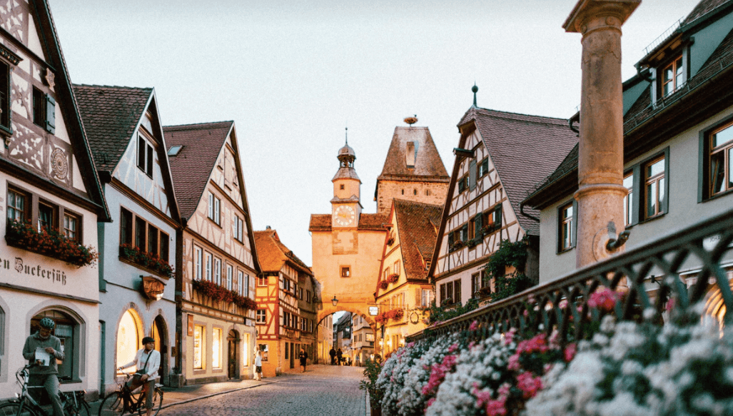 small german town in germany