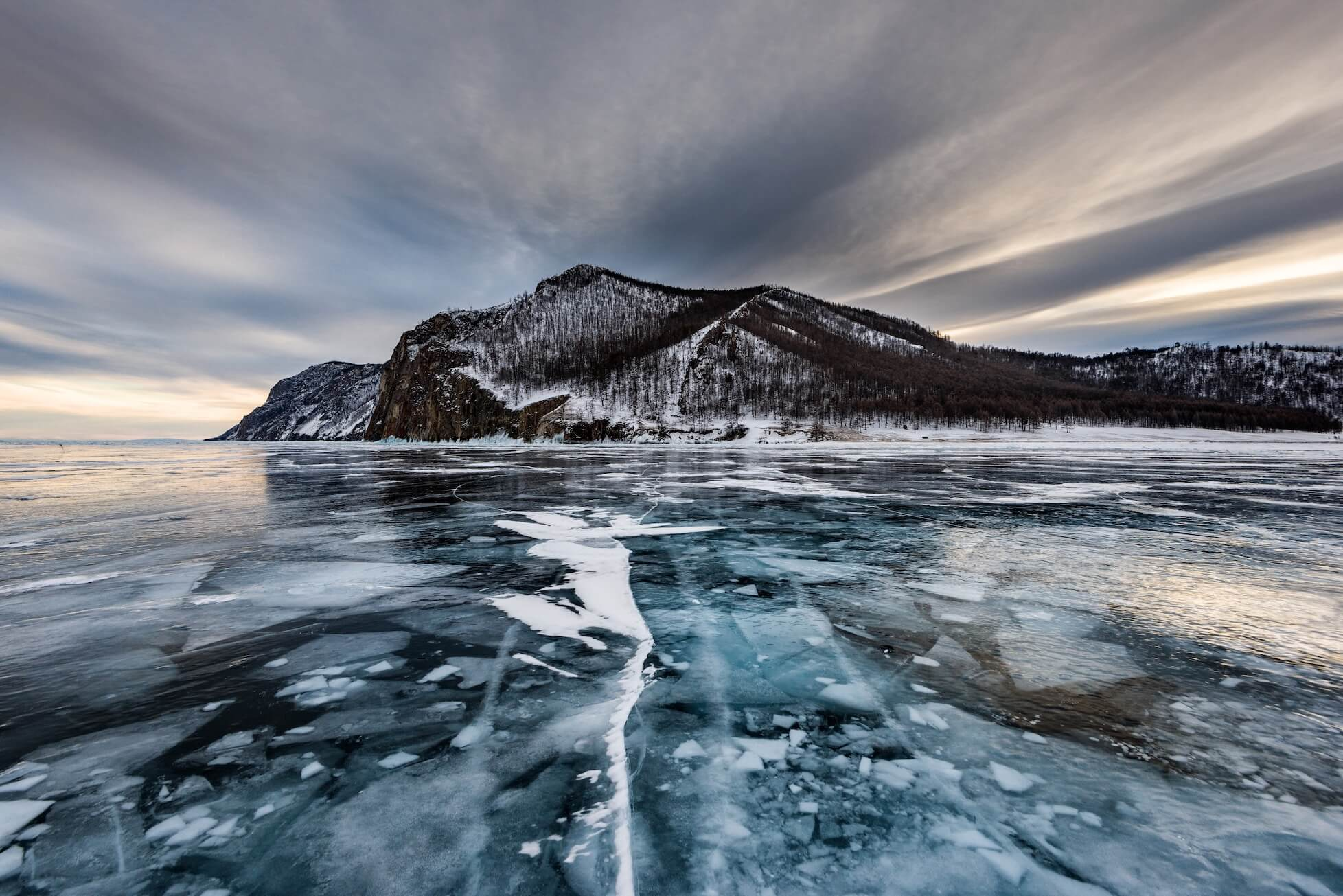 Image of Russian lake by Sergey Pesterev