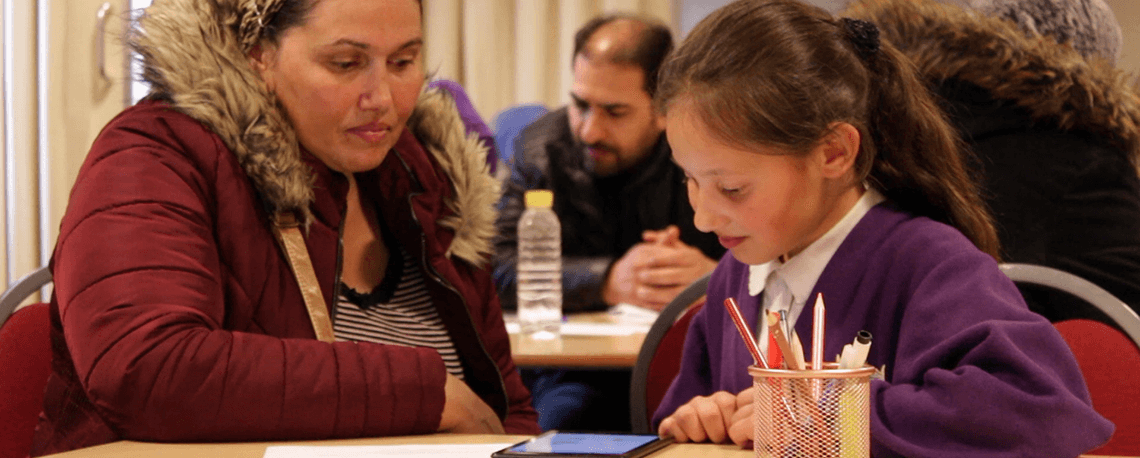 One way of supporting parents of newly arrived EAL pupils is to use the FlashAcademy platform with their children