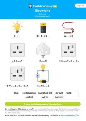 Electricity Flashacademy