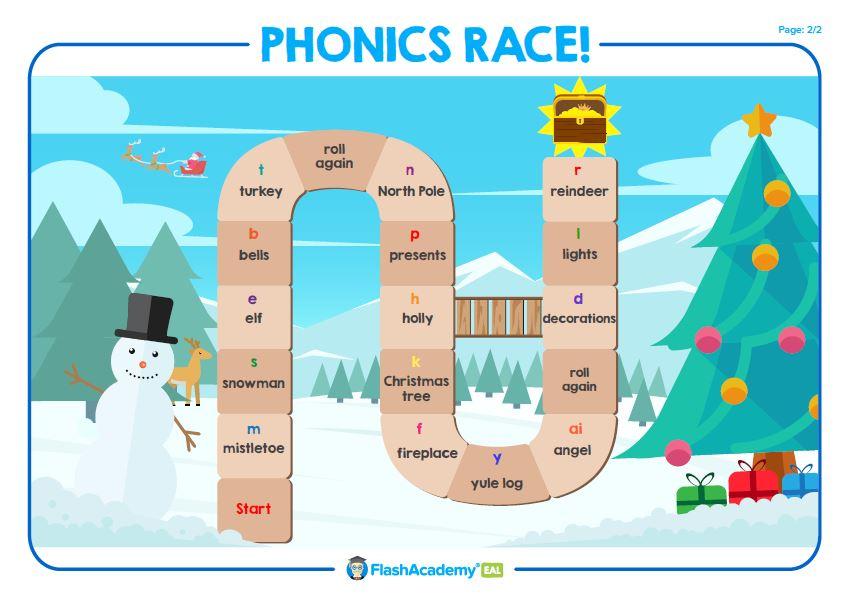 Christmas Phonics for EAL